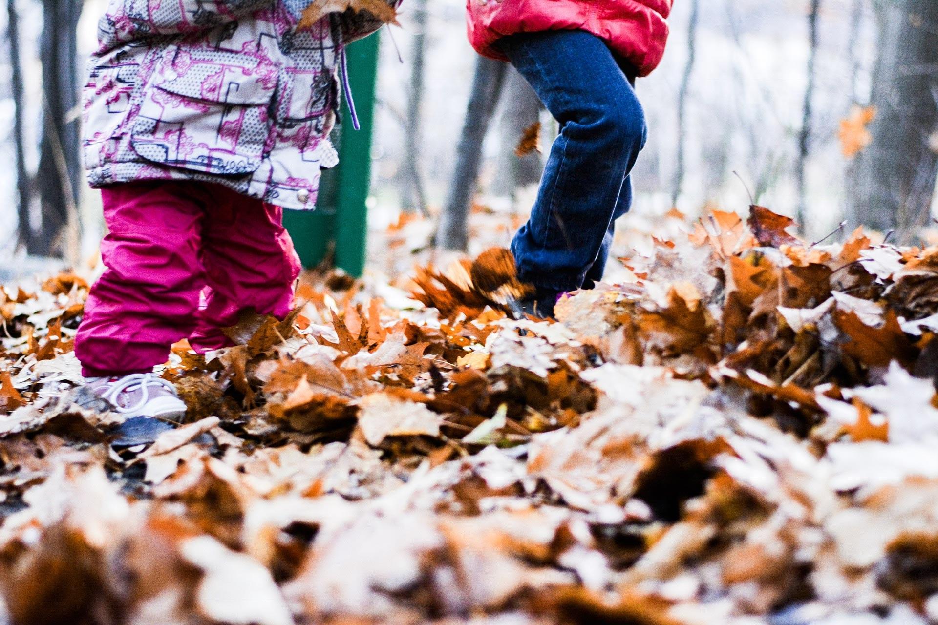enfants-automne