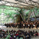 Concert au théâtre de verdure à Langourla