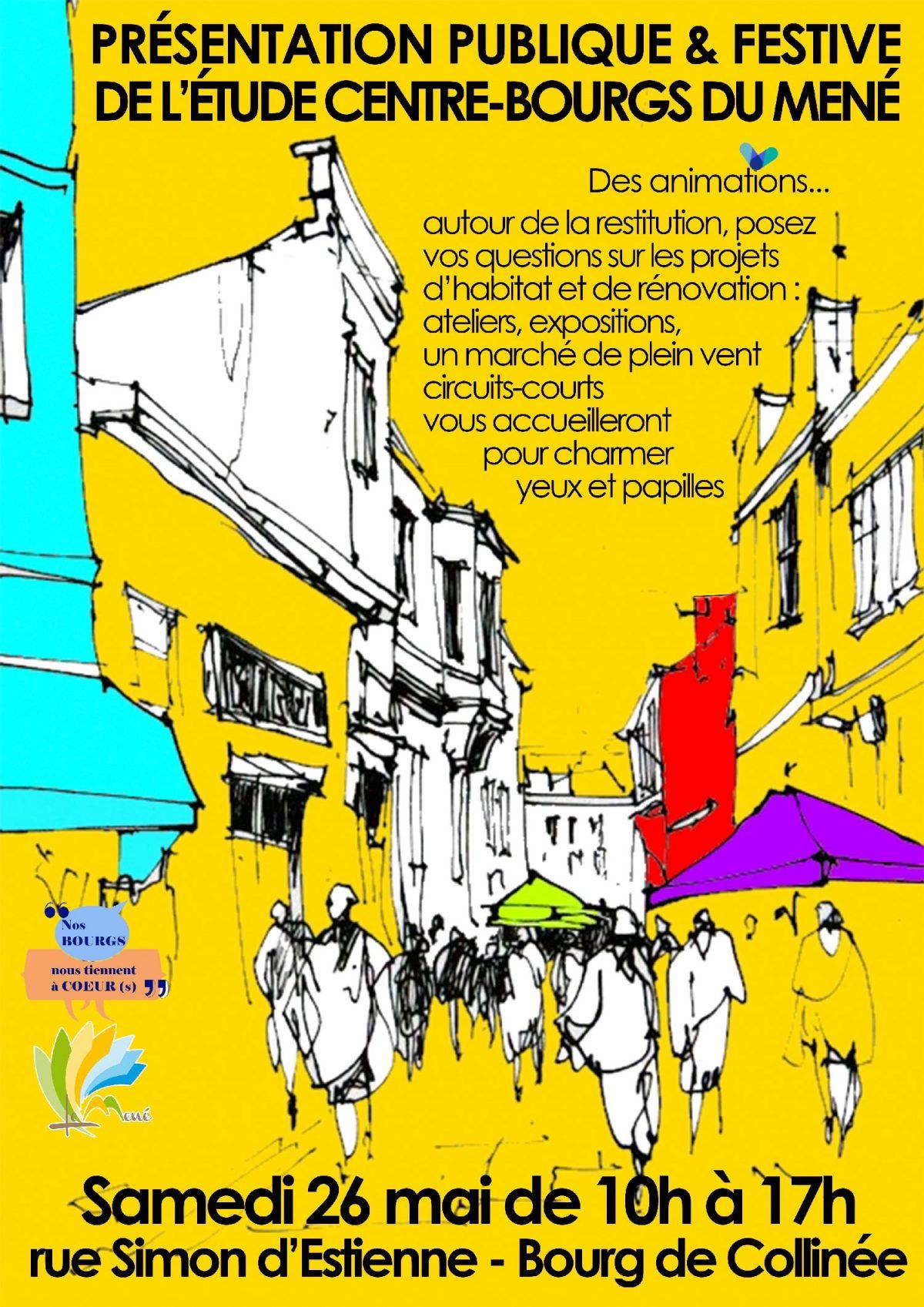 Présentation publique et festive de l'étude Centre-Bourgs