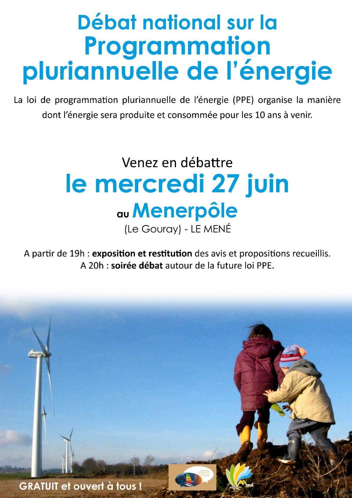 Débat national sur la Programmation pluriannuelle de l'énergie (PPE)