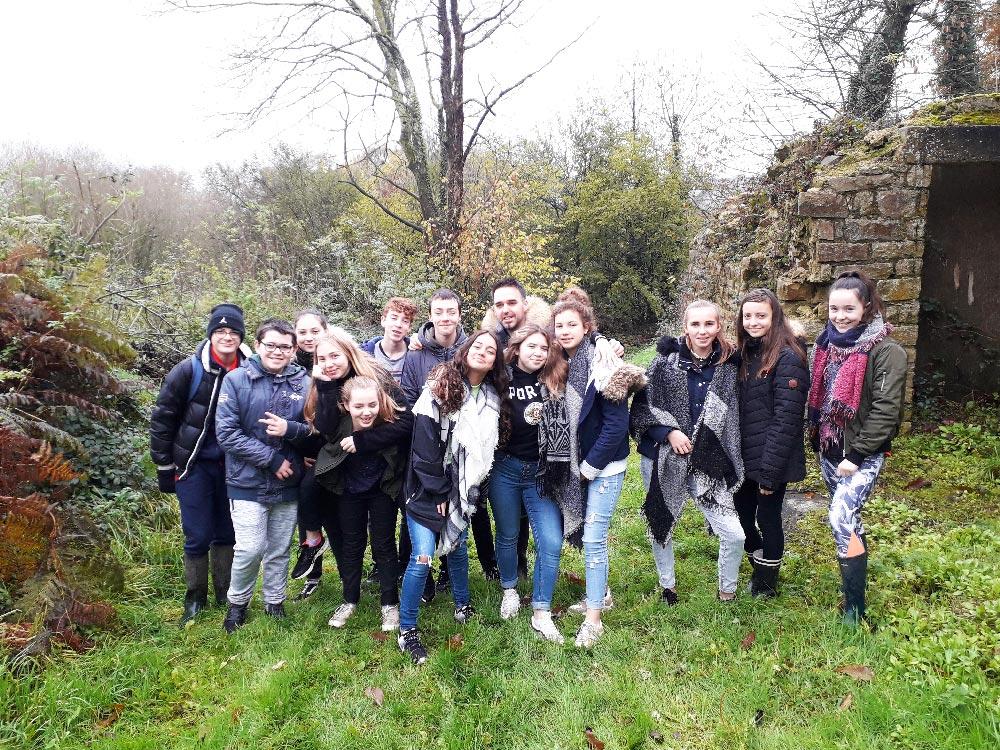 Trail de Saint-Gilles du Mené, les jeunes participent à la Course aux Dahuts !