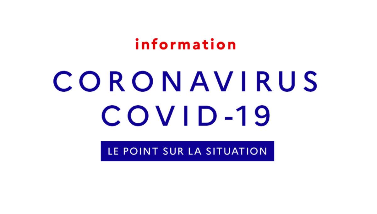 Information sur la pandémie Covid-19