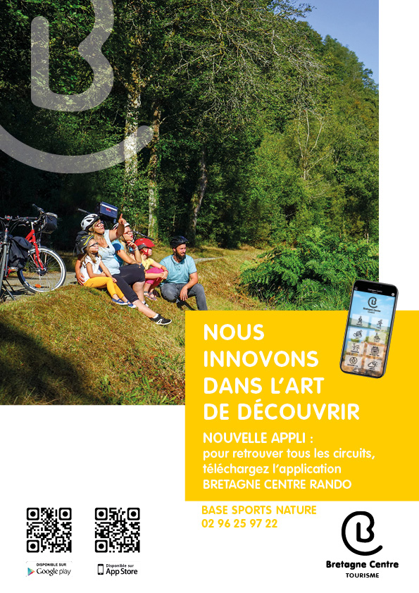Application mobile « Bretagne Centre Rando »