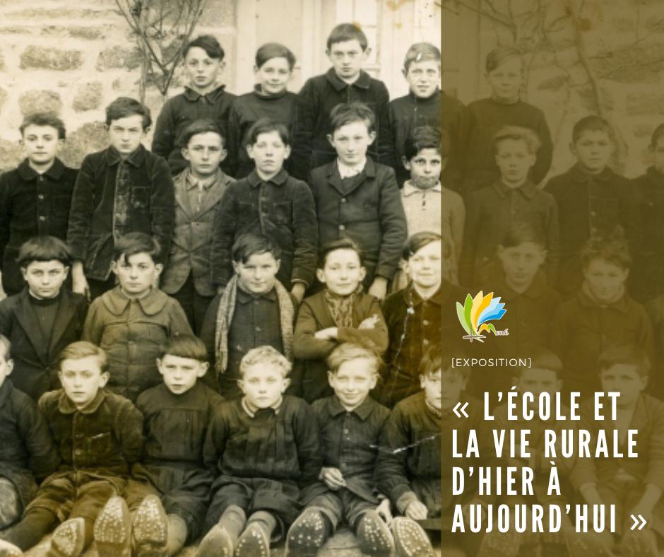 Exposition : « L'école et la vie rurale d'hier à aujourd'hui »