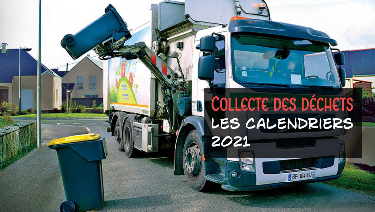 Collecte des déchets | Calendriers 2021